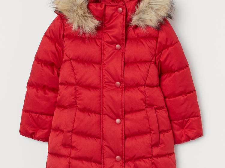 Hooded Puffer Jacket from H&M