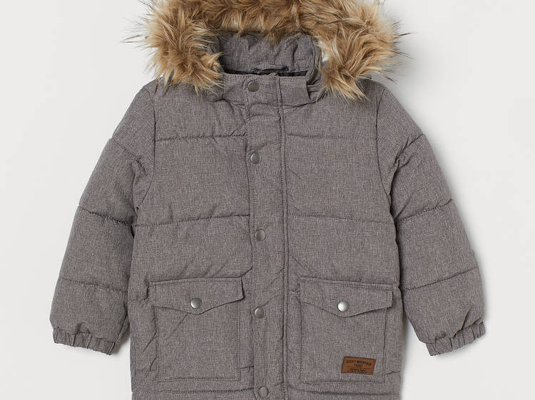 Padded Hooded Jacket from H&M