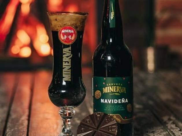 Cervezas navideñas, Cervecería Minerva