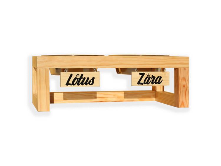 Comedouro personalizável da Wood Idea