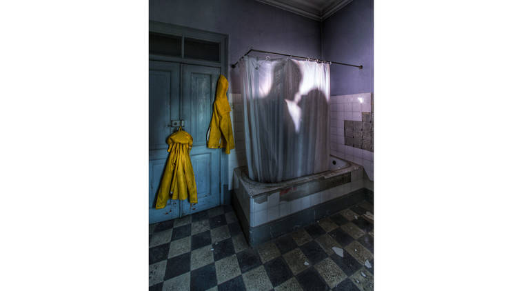 The Yellow Jackets, Fotografia, Save Water, Shower Together