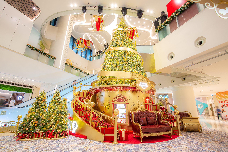 2020聖誕商場佈置及聖誕燈飾