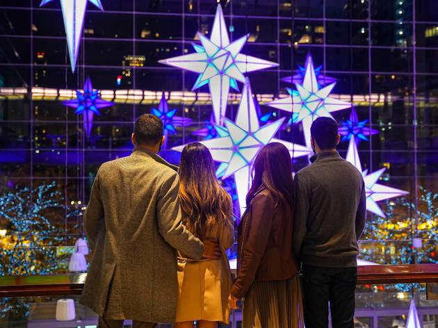 Holiday Under the Stars shops at columbus