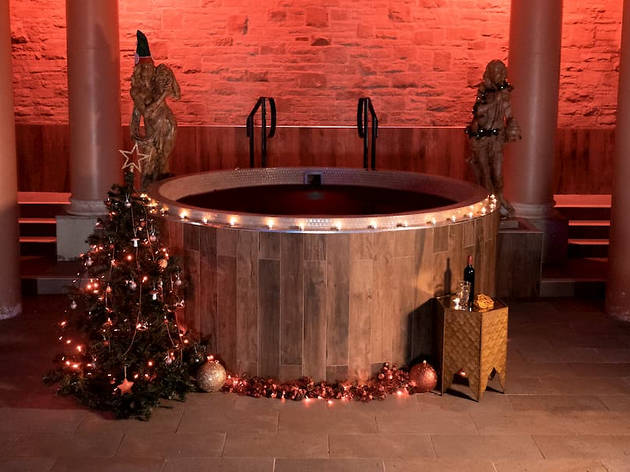 A mulled-wine hot tub is coming to this UK spa
