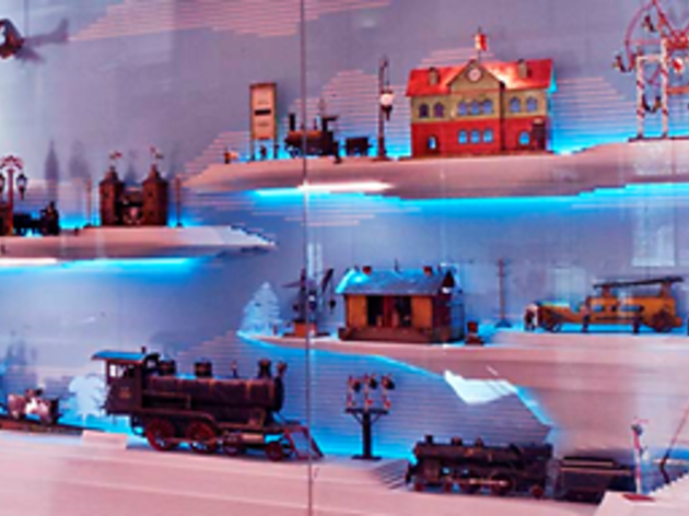 new york historical society train show