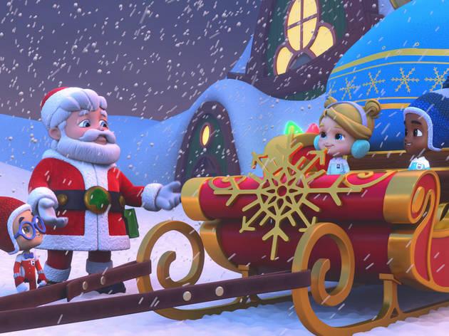Mighty Express: Una aventura navideña