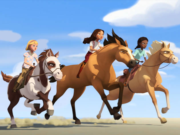 Spirit: Cabalgando libre - Cabalga conmigo
