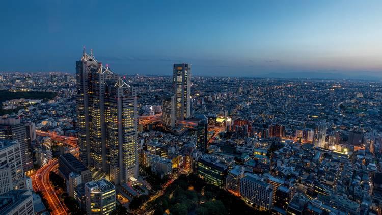 Tokyo skyline, Shinjuku