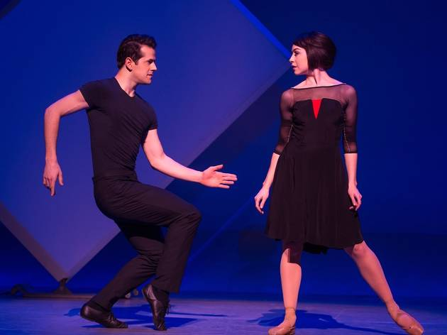 Robert Fairchild and Leanne Cope in An American in Paris