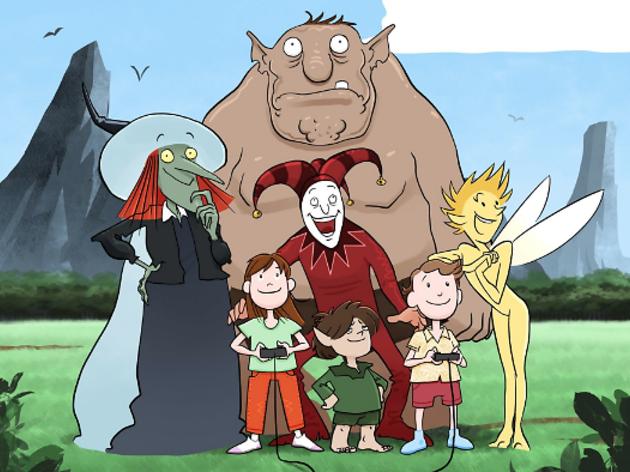 Cartell de l'obra de teatre infantil Snergs