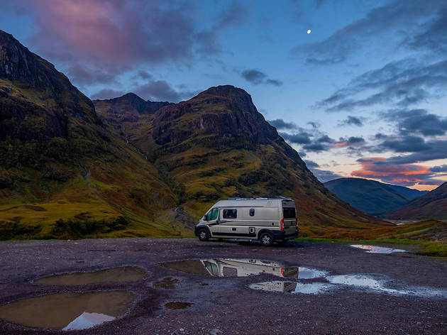 Campervanning in the UK
