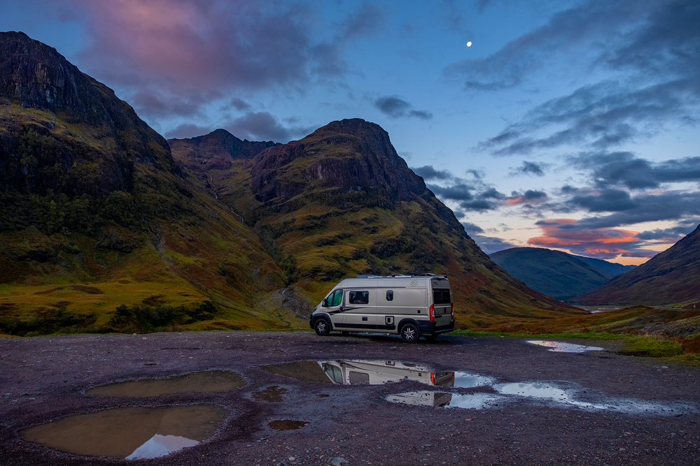 How to go on a campervanning holiday in the UK