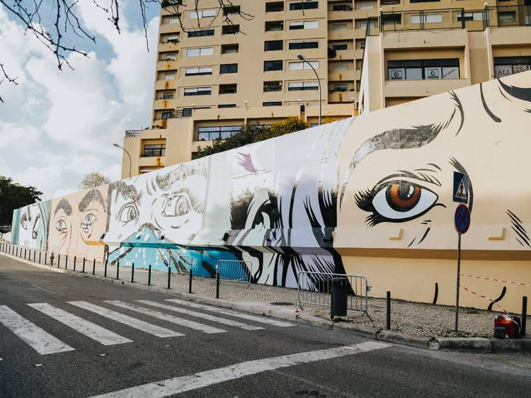 Roteiro de arte urbana em Lisboa