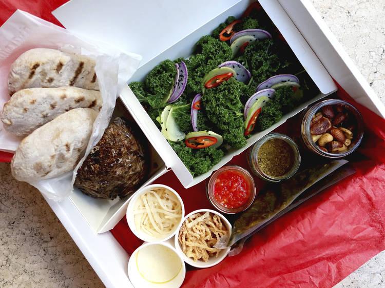 Rovi, celeriac shawarma kit