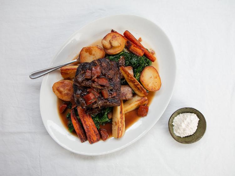 10 Greek Street, slow-cooked short rib