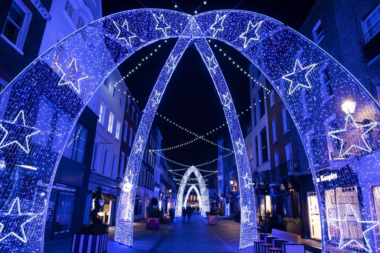 Mayfair Molton Street Christmas Lights