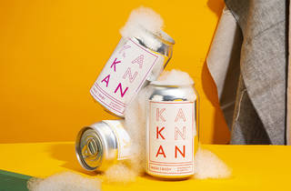 Beauty Kan Kan soap in a can