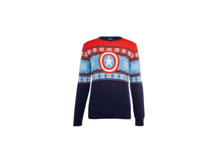 Camisola de Natal do Capitão América