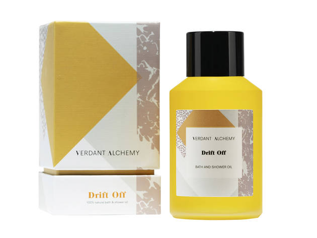 Drift Off bath and shower oil by Verdant Alchemy