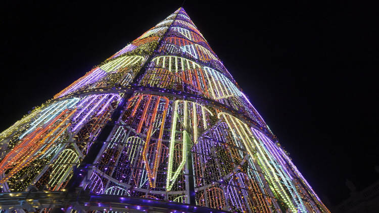 Iluminación de Navidad