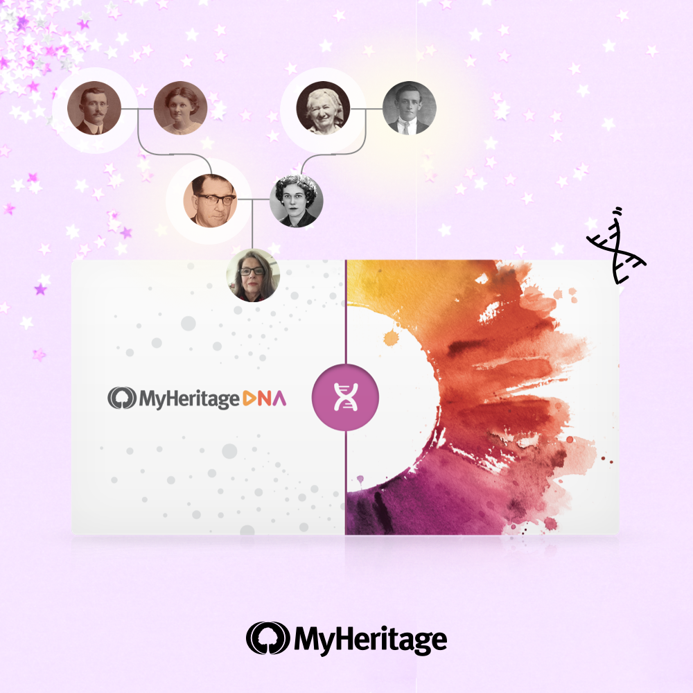Win a DNA kit or a one year complete plan from MyHeritage