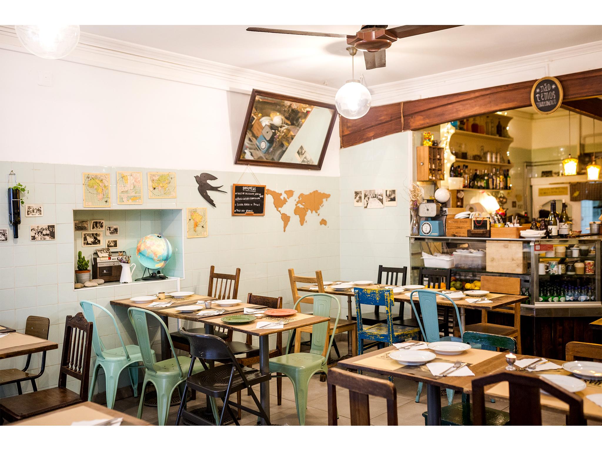 Restaurante, Estrela da Bica, Bica