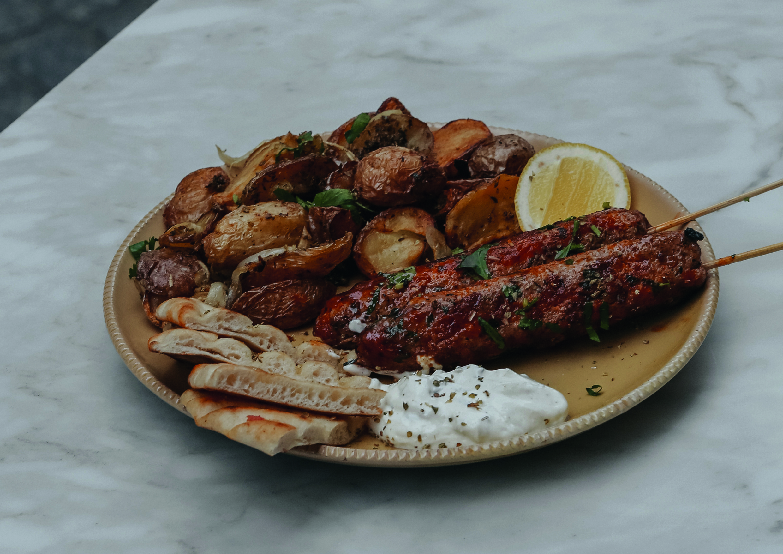 #FondDePlacard46 - Le kebab au gigot d'agneau, de Filakia