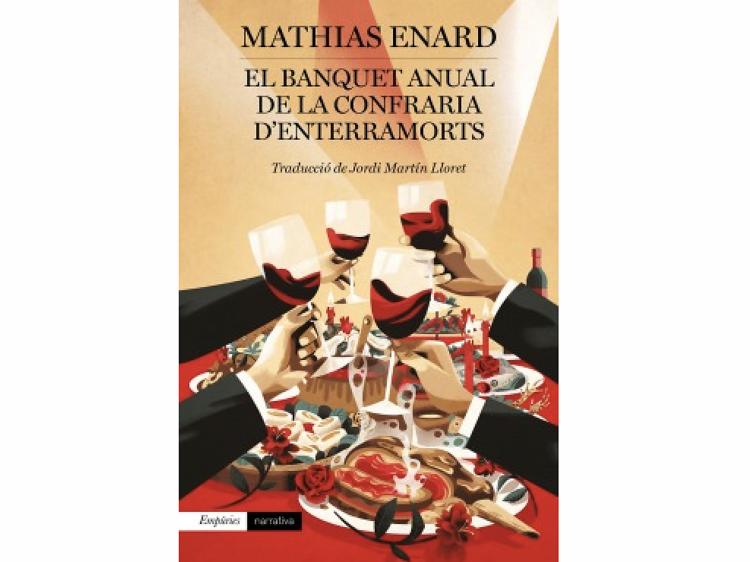 'El Banquet anual de la Confraria d'Enterramorts', de Mathias Enard