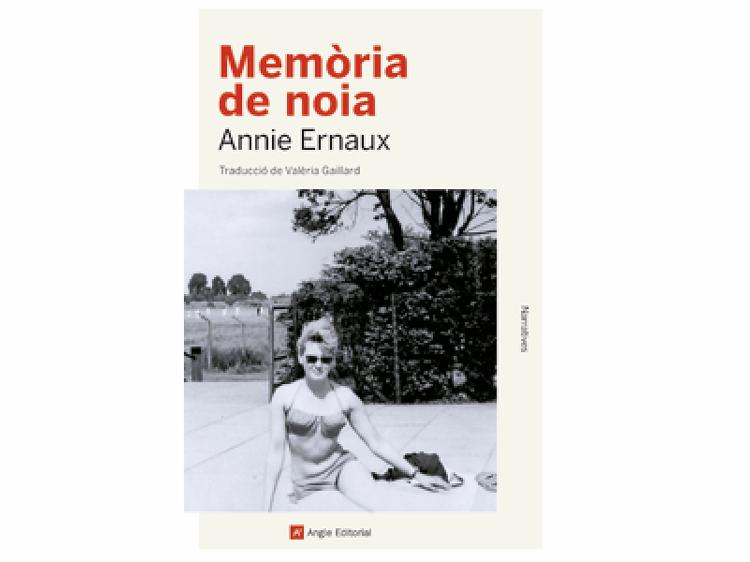 'Memòria de noia', de Annie Ernaux
