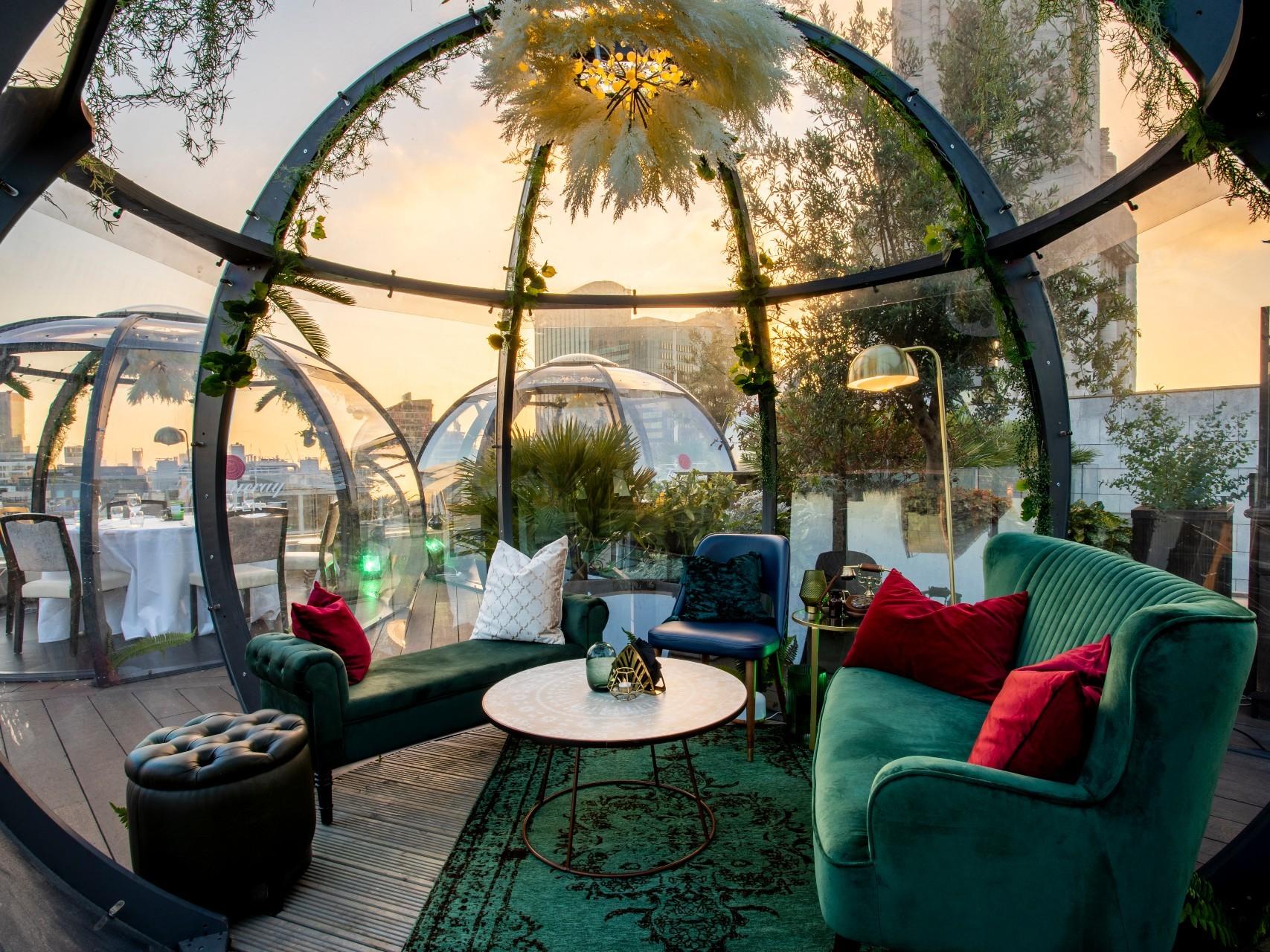 aviary rooftop igloo