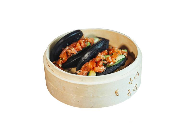 Tártaro de salmão do A-Bao-T