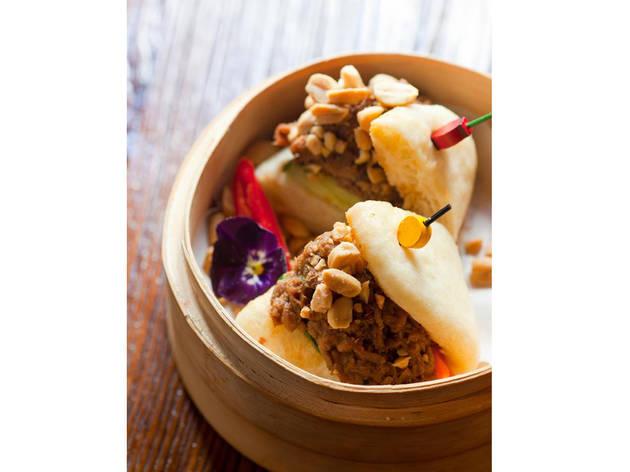 Restaurante, Soão, Bao de wagyu e amendoim