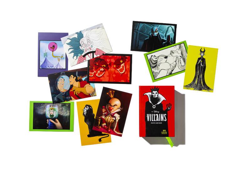 Disney Villains postcards