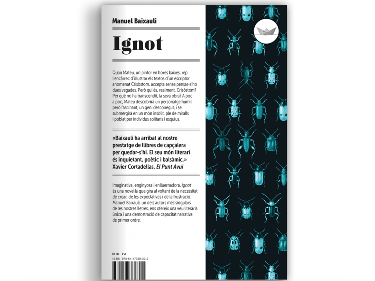 'Ignot', de Manuel Baixauli