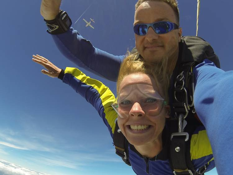 Skydive over the Mamanuca Islands