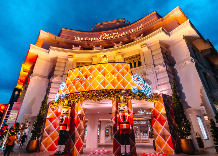 Land of Snowflakes at Capitol Singapore