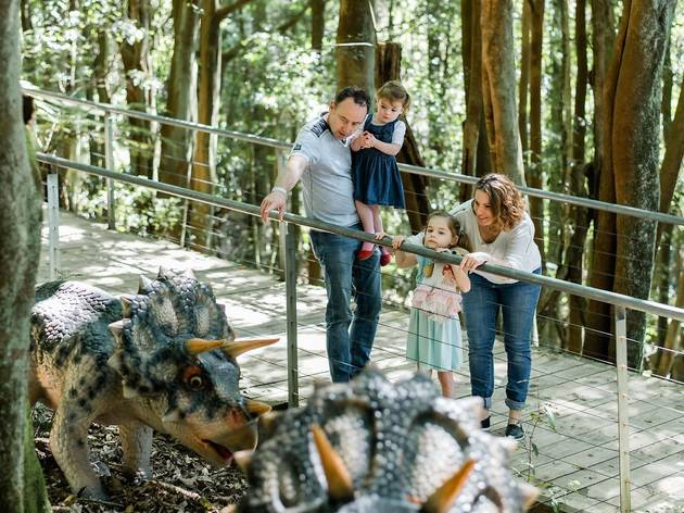 Dinosaur Valley at Scenic World