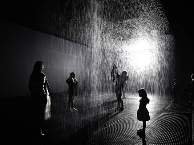 Interior at Rain Room Melbourne