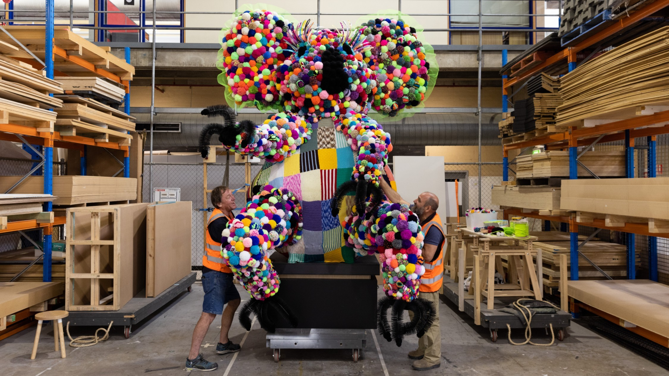 A giant koala is coming to the Powerhouse Museum this summer