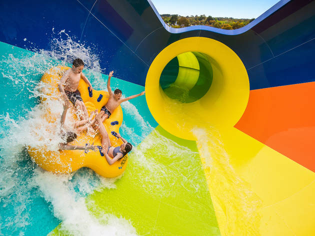 Adventure Park Geelong Tsunami waterslide