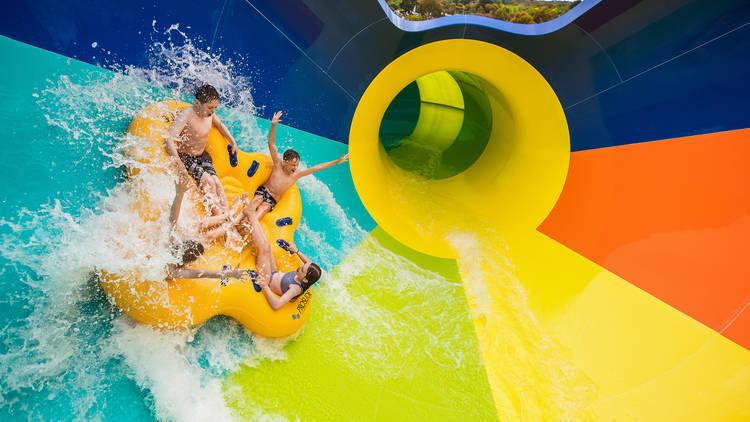 Adventure Park Geelong Tsunami waterslide