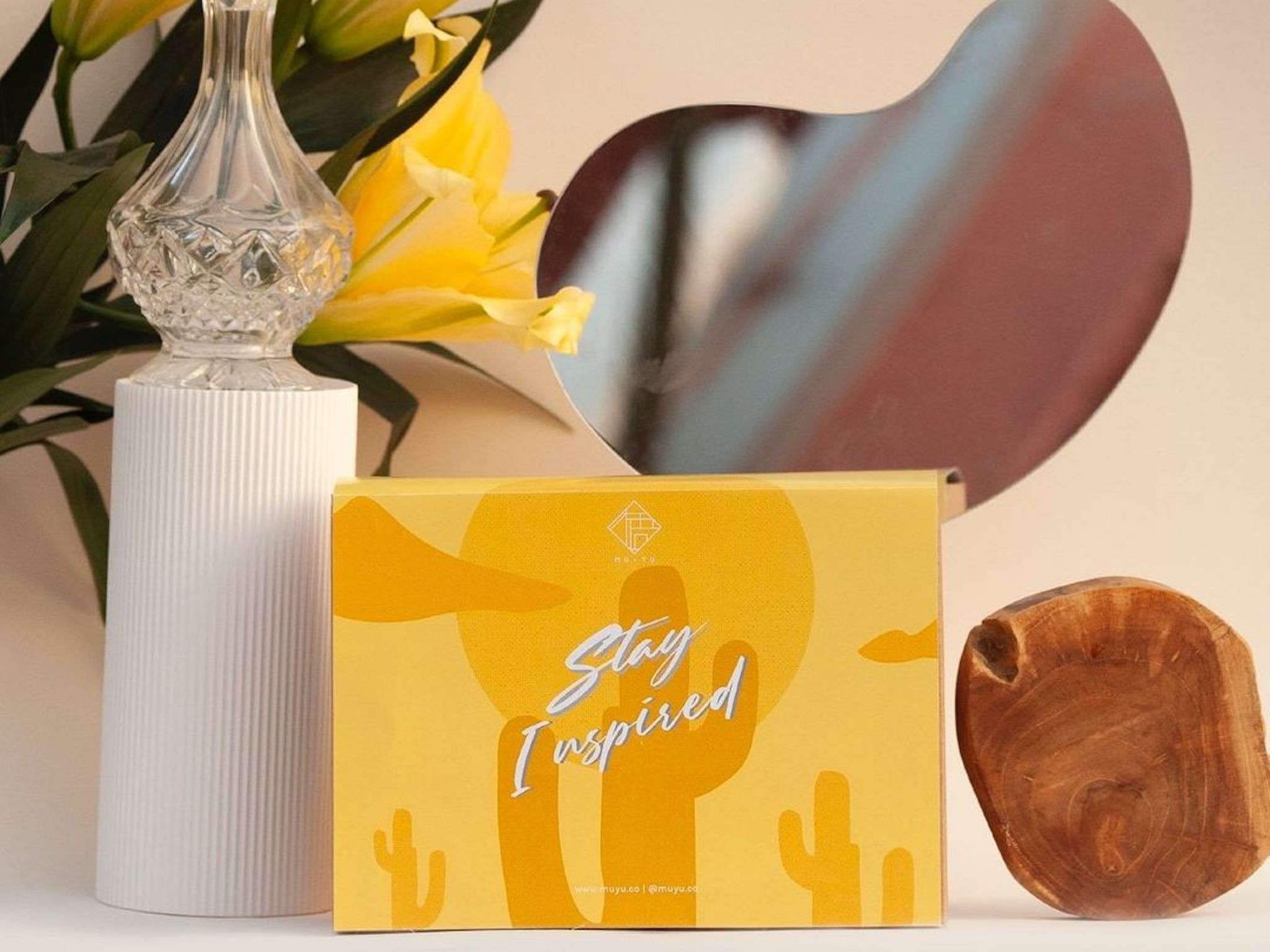 Stay Inspired gift set