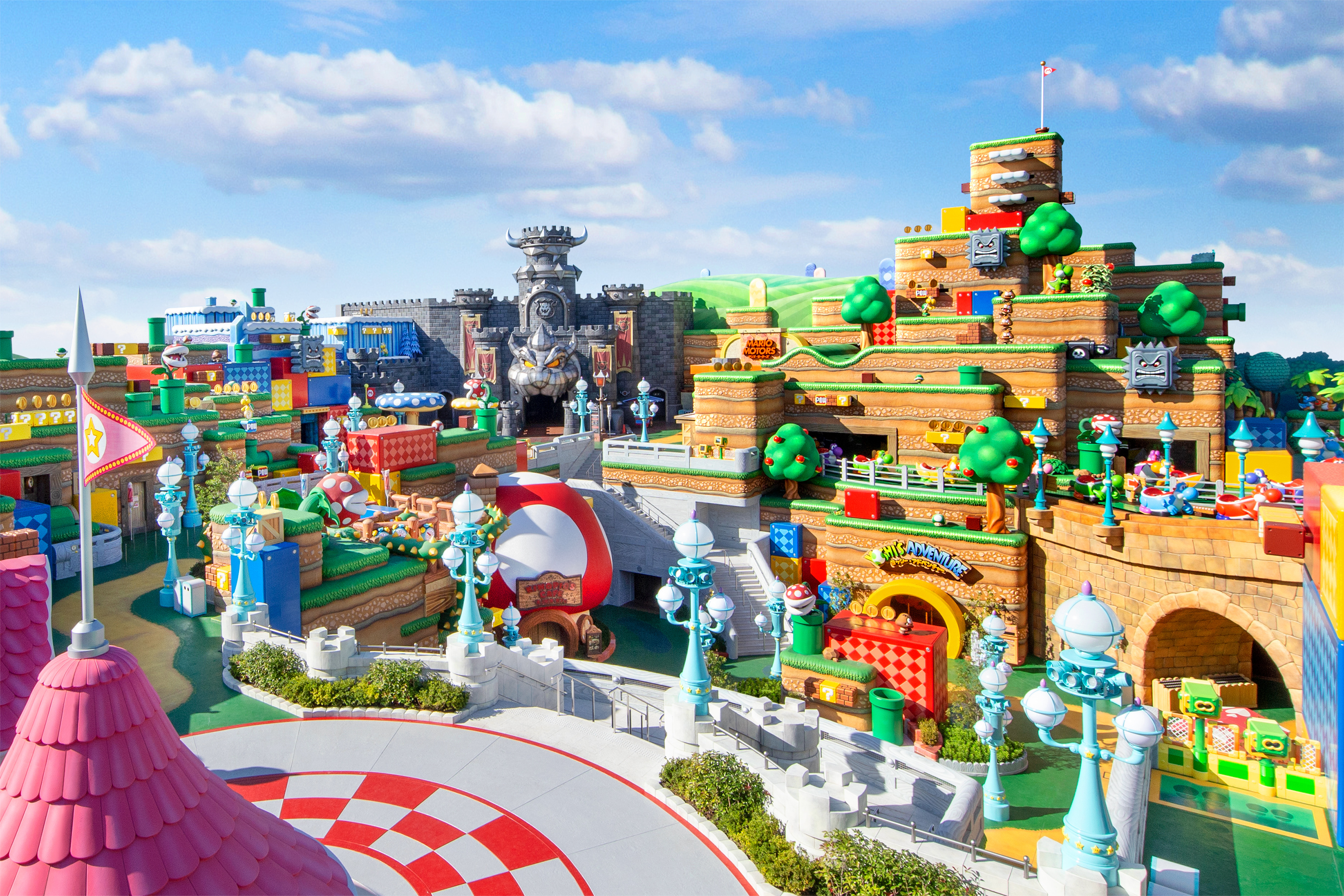 Here's your first look inside USJ's new Nintendo themed park