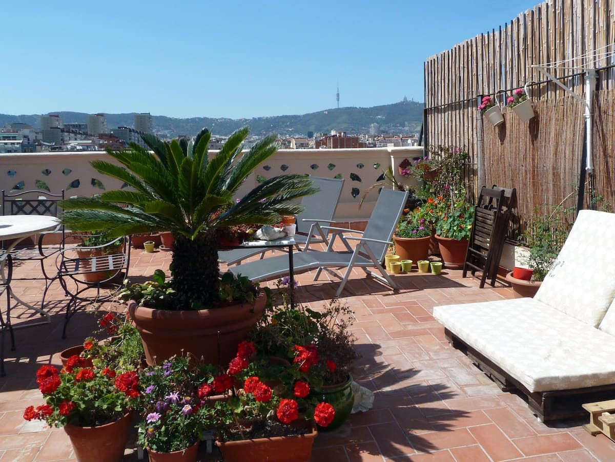 Alojamientos sorprendentes de Airbnb en Barcelona