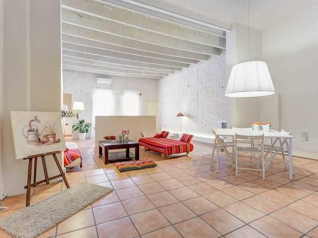Airbnb, Barcelona, 2020, alojamiento 3