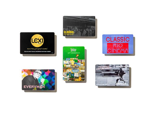 Cinema membership cards