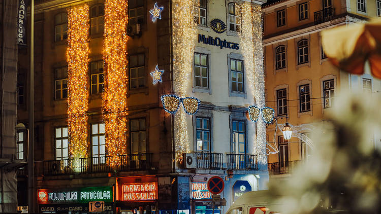 Luzes de Natal em Lisboa 2020