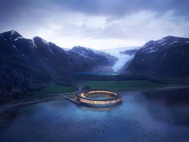 The world's first energy-positive hotel is opening in Arctic Norway