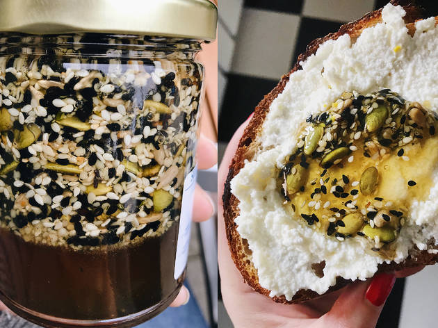 Gjusta seeded honey