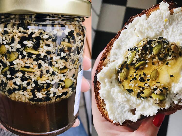 Gjusta's seeded honey